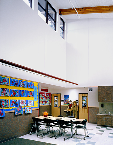 Cascade Ridge Elementary School classroom
