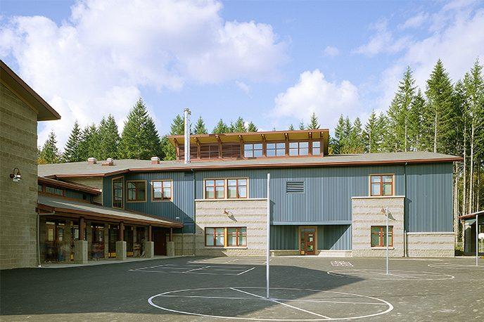 Cascade Ridge Elementary School playground