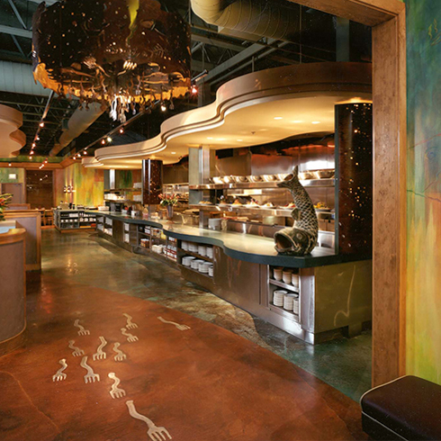 Coho Cafe bar