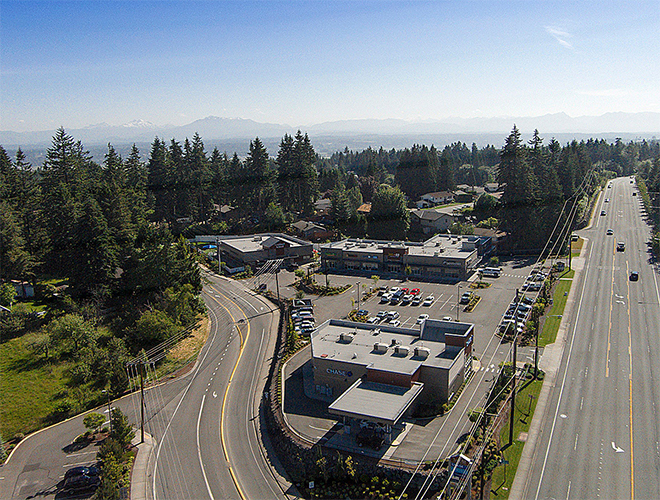 Seattle Hill Crossing aerial