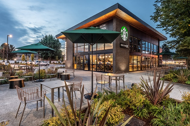 Starbucks oblique